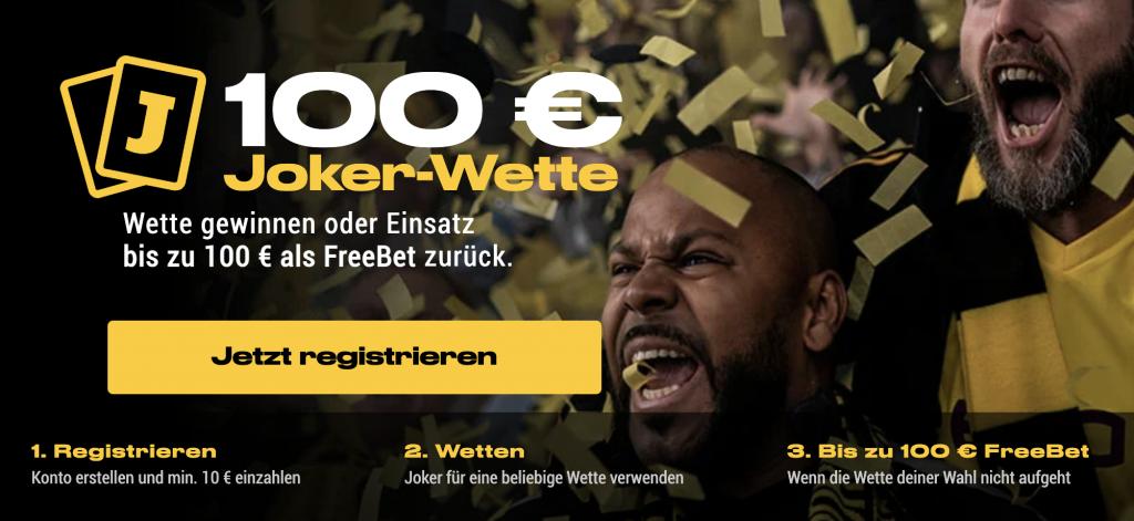 bwin Bonus 100 Euro Banner