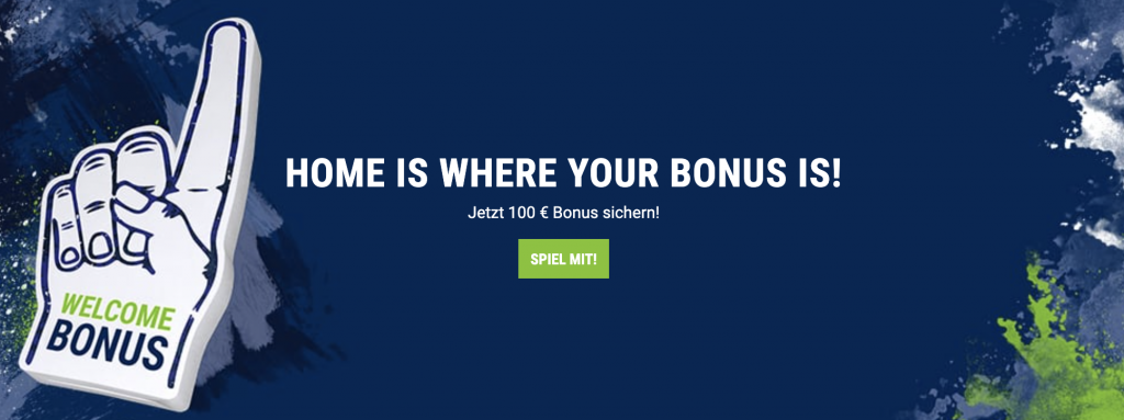 bet-at-home Bonus Banner